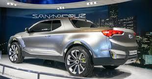 2018 hyundai santa cruz. fine 2018 2019 santa cruz concept rear view and 2018 hyundai santa cruz