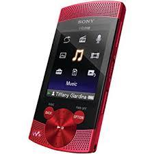 sony walkman mp3. sony walkman nwzs545red 16 gb video mp3 player (red) mp3 r
