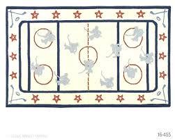 ice rink rug hockey rug hand hooked area rug collection page 6 kinder hockey hockey hockey
