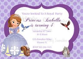 sofia the first birthday printables nivucolorhd sofia the first birthday invitation templates