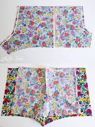 Pajama Shorts Pattern