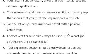 Resume Past Tense Unusual Current Job On Resume Past Tense Contemporary Example 35