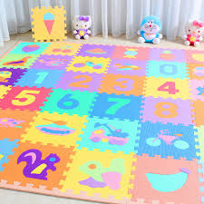 details about 10 x baby soft eva foam play mat alphabet numbers puzzle diy toy floor tile game