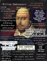Some Shakespeare quotes from his famous plays, and during his time ...