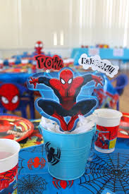 Karas Party Ideas Amazing Spiderman Birthday Party
