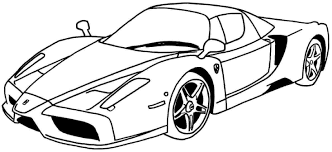 Most kids enjoy coloring, so print some car coloring pages for home or school. Race Car And Race Track Coloring Pages Coloring Home