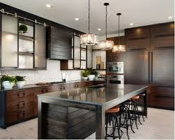 industrial kitchen furniture. Large Industrial Eat-in Kitchen Designs - L Furniture