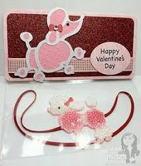 cricut pink poodle valentine s day love the beaded pearl poodle