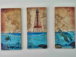 Coastal Art - Outdoor UV protected Marine Artwork - Eddie Forbes