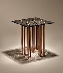 bamboo furniture designs. The TIND Table Melds Bamboo And Recycled Metal Into Something Marvelous Furniture Designs E