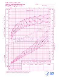 Birth Length Chart Preview Pdf Girls Birth To 24 Months Weight Length