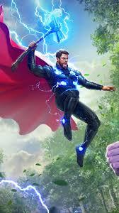 Thor vs Thanos Avengers 4K Wallpaper #4.226