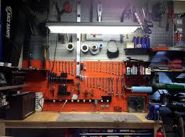 garage storage metal pegboard garage