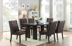 f1501 espresso dining chair by poundex