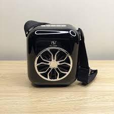 Loa karaoke bluetooth YS-A20 tặng 1 micro không dây (màu đen)