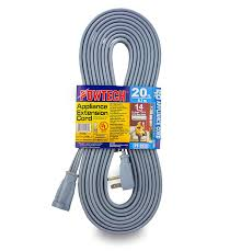 extension cord for ac unit. Plain For POWTECH Heavy Duty 20 FT Air Conditioner And Major Appliance Extension Cord  UL Listed 14 Gauge 125V 15 Amps 1875 Watts GROUNDED 3PRONGED CORD  In For Ac Unit O