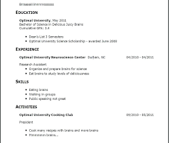 Resume With No Work Experience Template Adorable Resume Templates For No Job Experience Sample Resume No Job