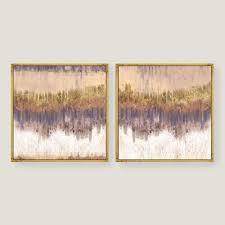 gold canvas wall art in well known wall art designs kirklands wall art golden field