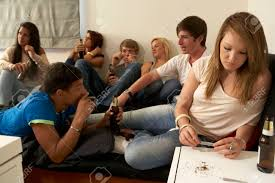 Stock Smoking Drinking Image And Picture 33590808 Photo Image Teenagers Royalty Free