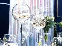large wine glass centerpieces tall wine glasses centerpieces crystal vases giant wine glass centerpiece vase