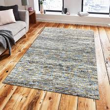 product image handmade cut pile wool viscose area rug