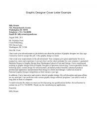 Graphic Designer Cover Letter Resume Badak Resume Templates