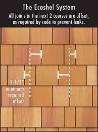 installing cedar shakes. Modren Cedar Ecoshel Cedar Shingle Installation For Installing Shakes