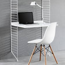 White work desk Best Choice Work Desk 78x58 Cm By String In White Coating Connox Work Desk By String Connox Online Shop