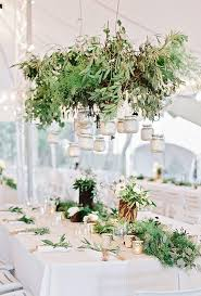for a garden inspired reception tailor and table