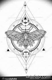 черно белый эскиз тату геометрия 09032019 007 Tattoo Sketch