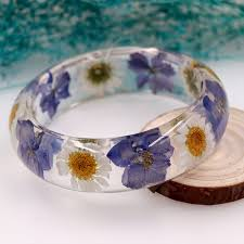 flowers resin jewelry ping