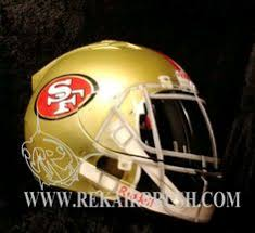 the saints football custom made motorcycle helmet by www