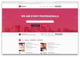 30 Awesome Wordpress Themes For Conference And Event 2019 Colorlib