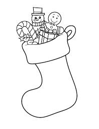 Small Picture How to Draw Christmas Stockings Coloring Pages NetArt
