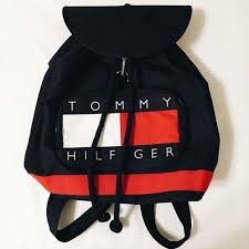NEW Vintage Tommy Hilfiger <b>backpack</b> New without tags! Make an ...