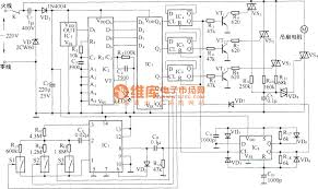 Fan And Light Remote Control Circuit Wireless Remote Control Ceiling Fan Circuit Diagram