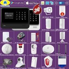 Online Shop <b>Golden Security DIY</b> WIFI 3G GSM GPRS Wireless APP ...