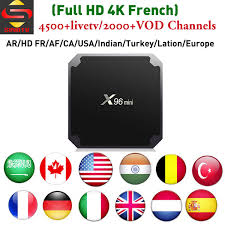4K <b>HD France</b> IPTV Box <b>X96 Mini</b> With SINOTV App To Watch ...