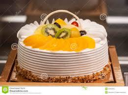 Birthday Cake Displayed In Shop Window Stock Image Image Of Bakery