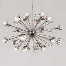 sputnik chandelier  modern lighting  jonathan adler