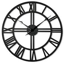 oversized wall clock loft 60cm 24in