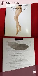 Calvin Klein Black Matte Stockings 620n Size A Black 15
