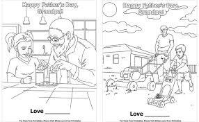 father s day coloring pages set 2