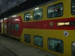 jaipur delhi sarai rohilla ac double decker express