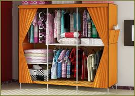 portable closets home depot in orange with curtain and shoe organizer