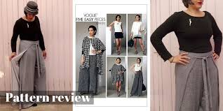 Wrap Pants Pattern New Pattern Review Vogue 48 Sewing Pattern C Sews