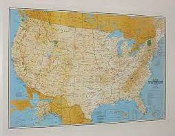 Faa Vfr Wall Planning Chart My Office Wall Maps Vintage