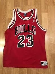 Vtg Champion Michael Jordan Jersey Chicago Bulls 23 Nba