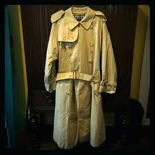 vintage trench coat mens m