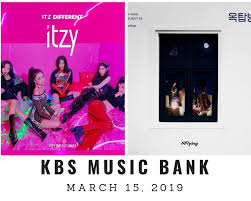 Music Bank Chart Music Show Itzy Wins On Kbs Music Bank March 15th 2019